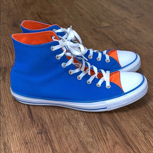 blue and orange converse - 61% OFF